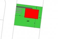 Situace bungalov 80 m2 Tuchlovice jpg