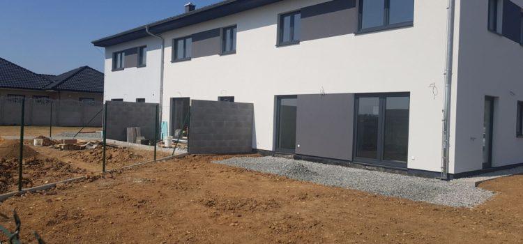 RD o 3 bytových jednotkách Buštěhrad, Vrbová ul.