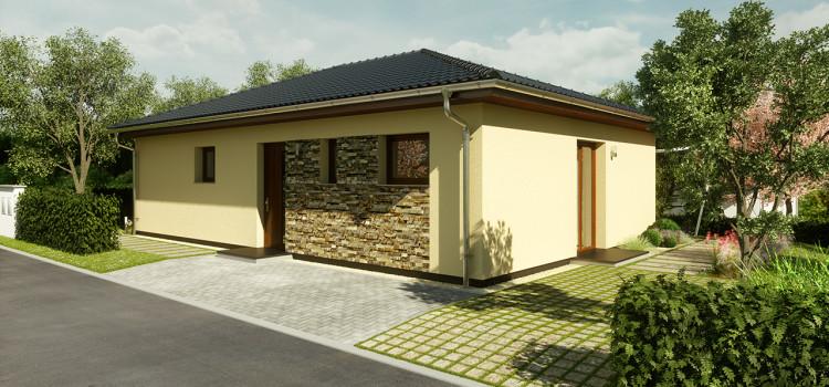 1 RD bungalov, Tuchlovice