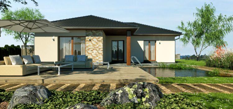 2 RD bungalov L OP 91 m2 – Tuchlovice