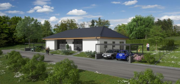 3 RD o 2 Bytových jednotkách + 1 bungalov L, Zvoleněves, okr.Kladno