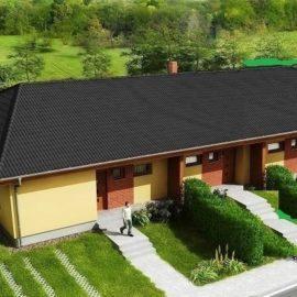 3 Bytové jednotky se zahradou, Jinočany, okr.Praha západ